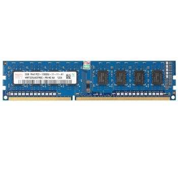 رم دسکتاپ DDR3 تک کاناله 1600 مگاهرتز CL11 هاینیکس مدل HMT325U6EFR8C-PB ظرفیت 2 گیگابایت