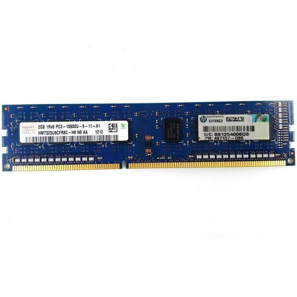 رم دسکتاپ DDR3 تک کاناله 1333 مگاهرتز CL9 هاینیکس مدل 10600 ظرفیت 2 گیگابایت
