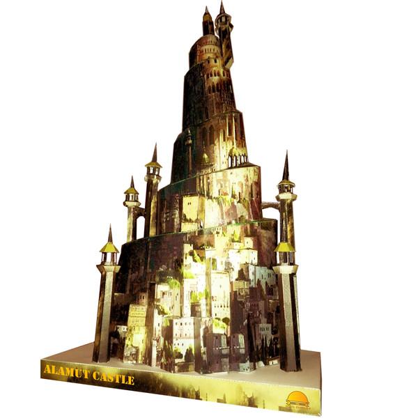 ساختنی طرح قلعه الموت