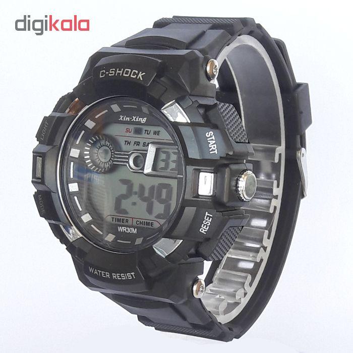 ساعت مچی دیجیتال مردانه مدل G-SH 2288-ME-ME
