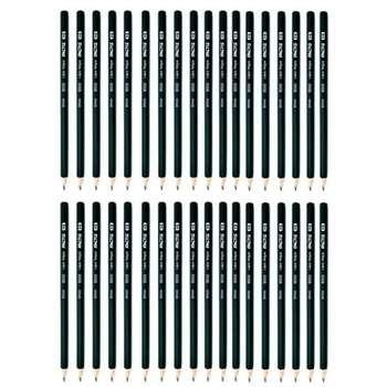 مداد مشکی فکتیس مدل 9000 مجموعه ۳۶ عددی