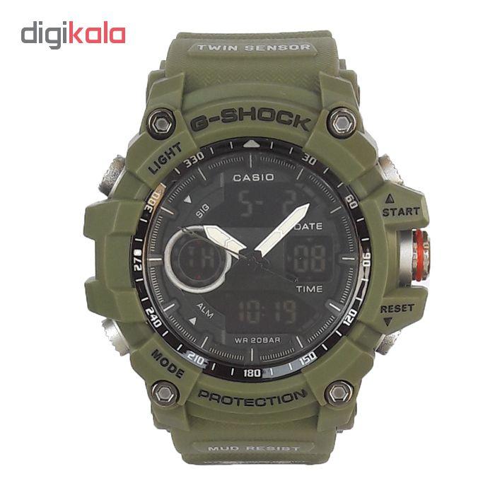 ساعت مچی دیجیتال مردانه مدل G-SH 2299-SAB