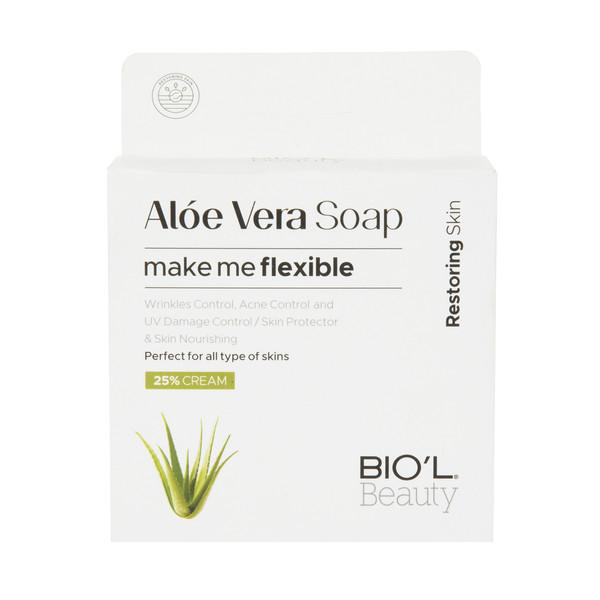 صابون شستشو بیول مدل Aloe Vera وزن 100 گرم
