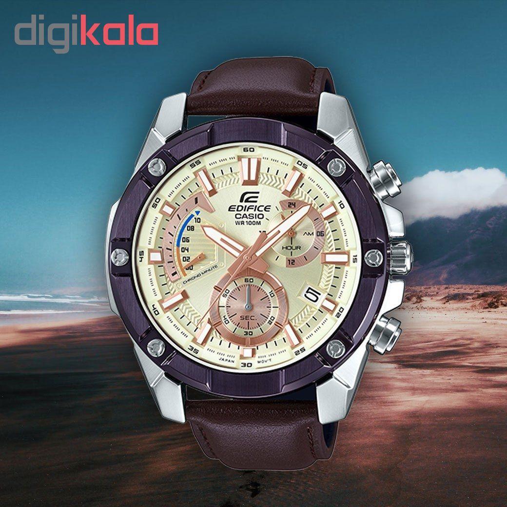 خرید ساعت مچی عقربه ایمردانه کاسیو مدلEFR-559BL-7A