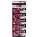 باتری سکه ای مکسل مدل CR2025 بسته 5 عددی thumb