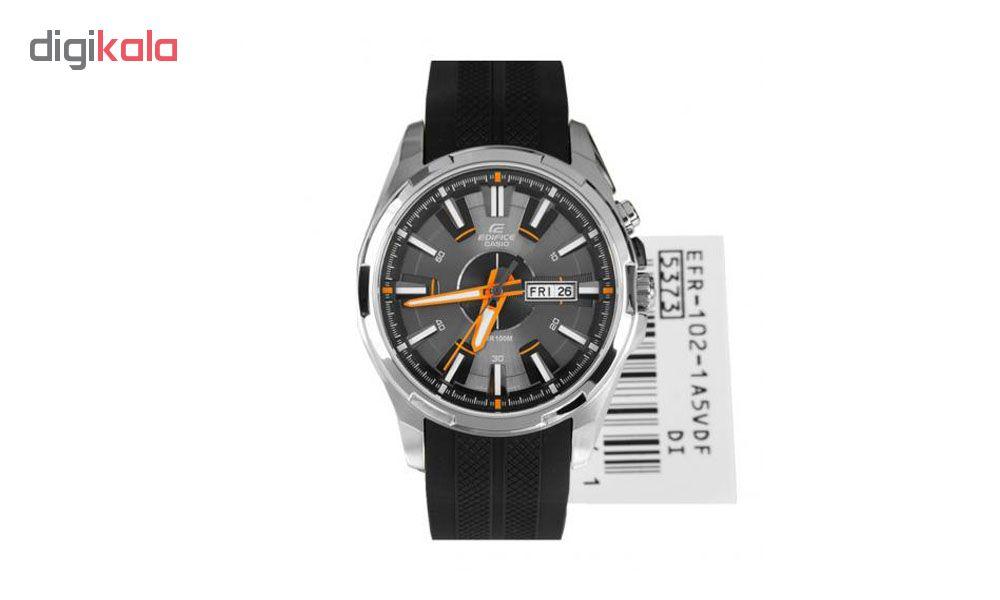 ساعت مچی عقربه ای مردانه کاسیو مدل EFR-102-1A5VDF