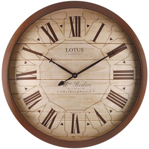 ساعت دیواری لوتوس کد 8833