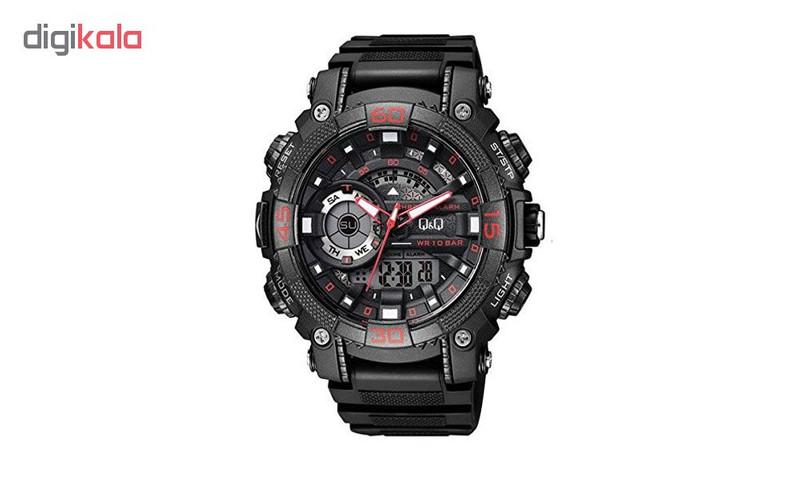 ساعت مچی دیجیتال مردانه کیو اند کیو مدل GW87J002Y