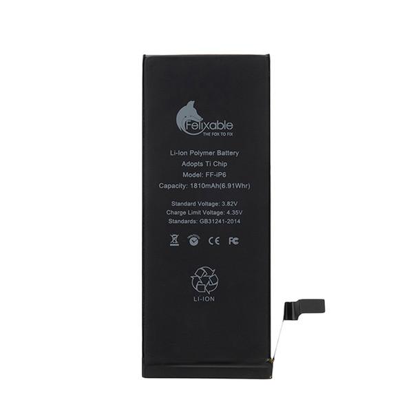 باتری موبایل فلیکسبل مدل FF-iP6 ظرفیت 1810 میلی آمپر ساعت مناسب برای گوشی موبایل اپل iPhone 6