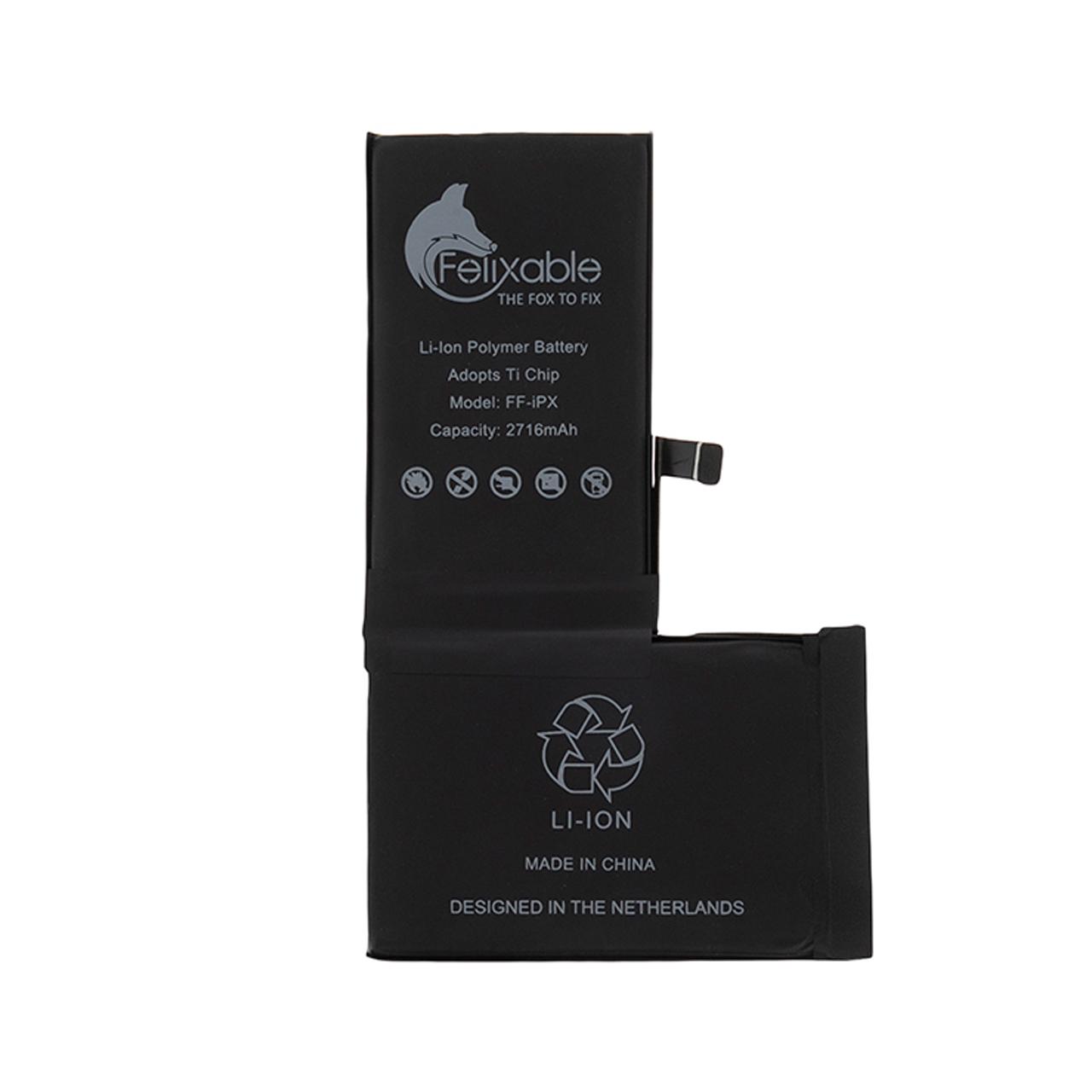 باتری موبایل فلیکسبل مدل FF-iPX ظرفیت 2716 میلی آمپر ساعت مناسب برای گوشی موبایل اپل iPhone X