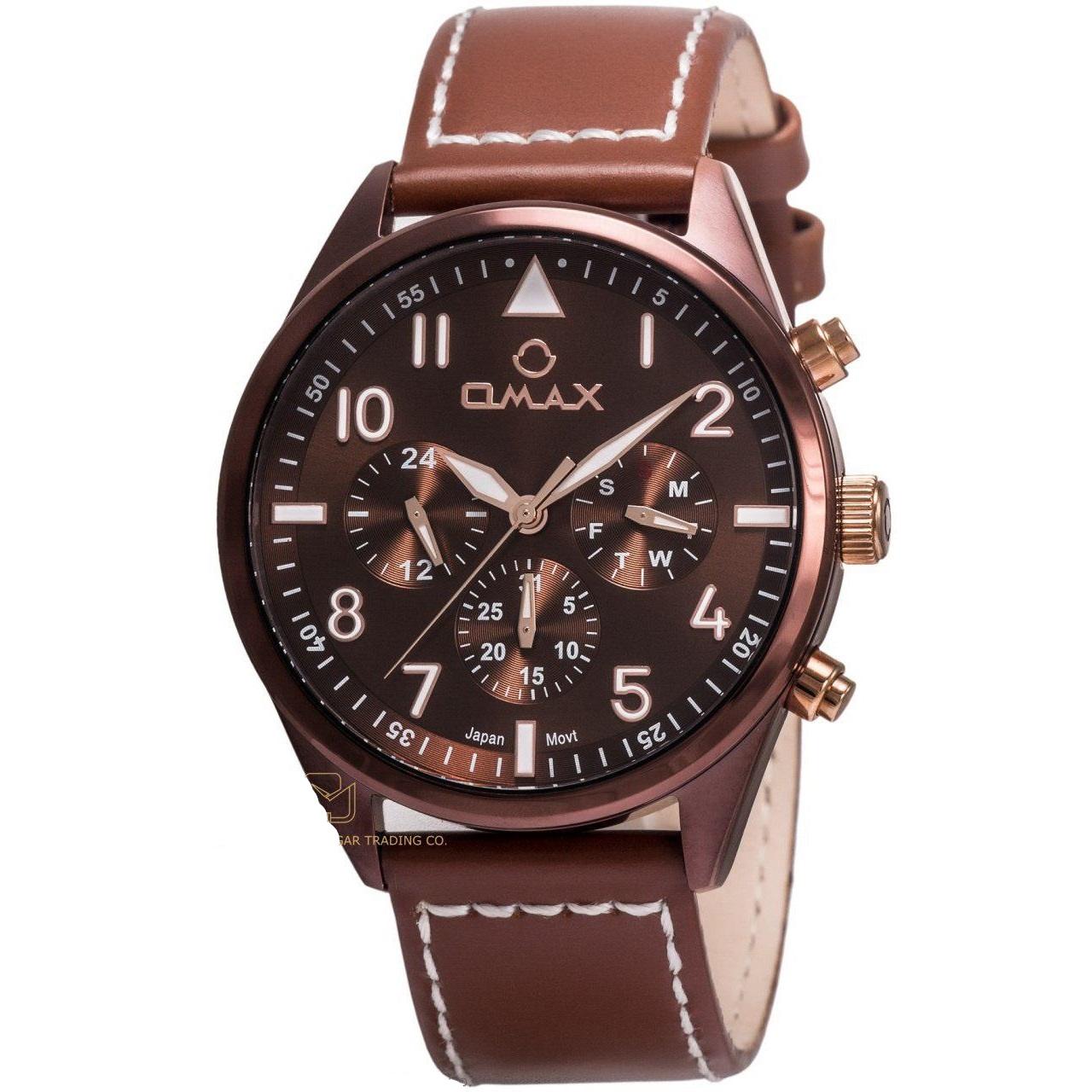 کد تخفیف                                      ساعت مچی عقربه ای  مردانه اوماکس مدل 71SMF55A