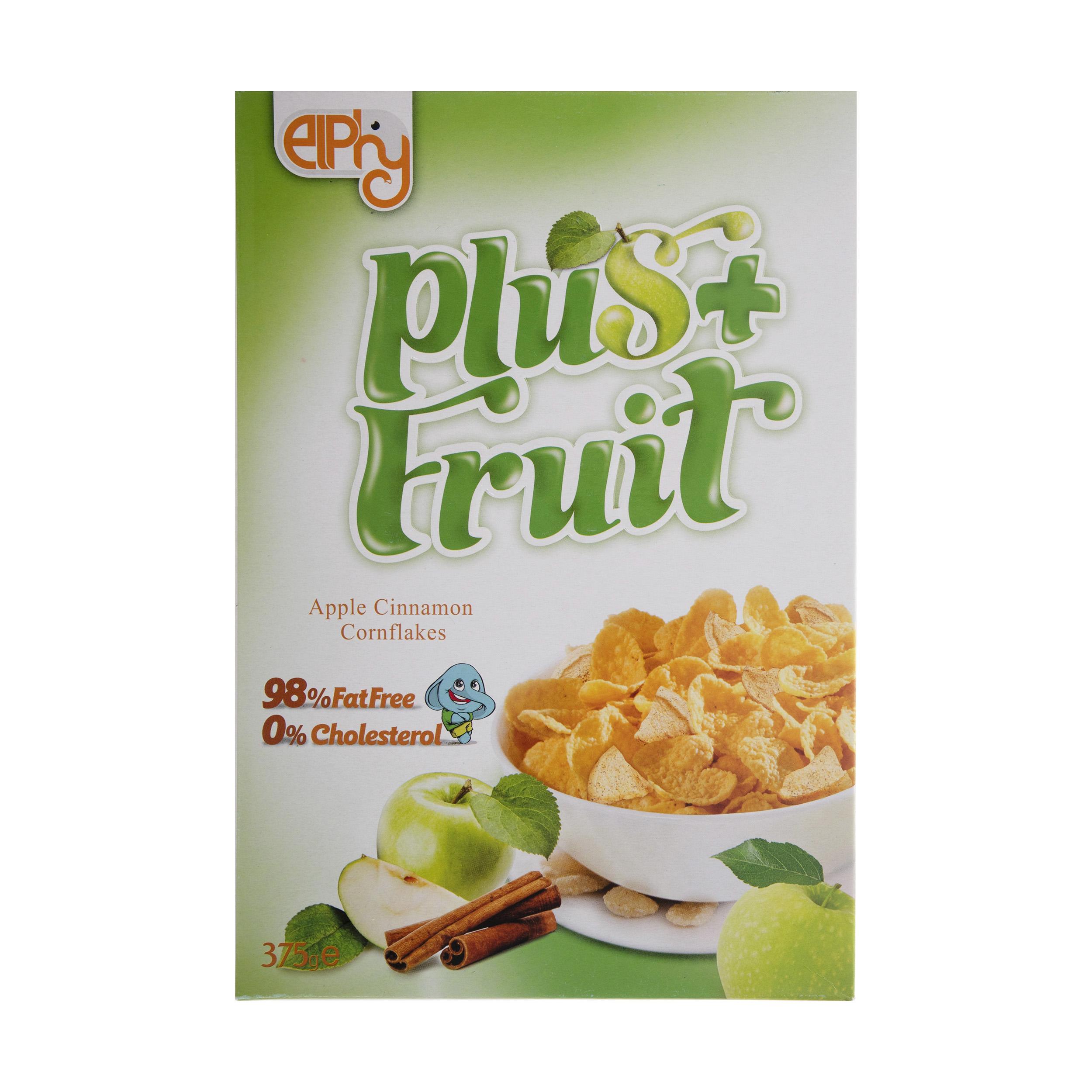 کورن فلکس سیب و دارچین الفی وزن 375 گرم