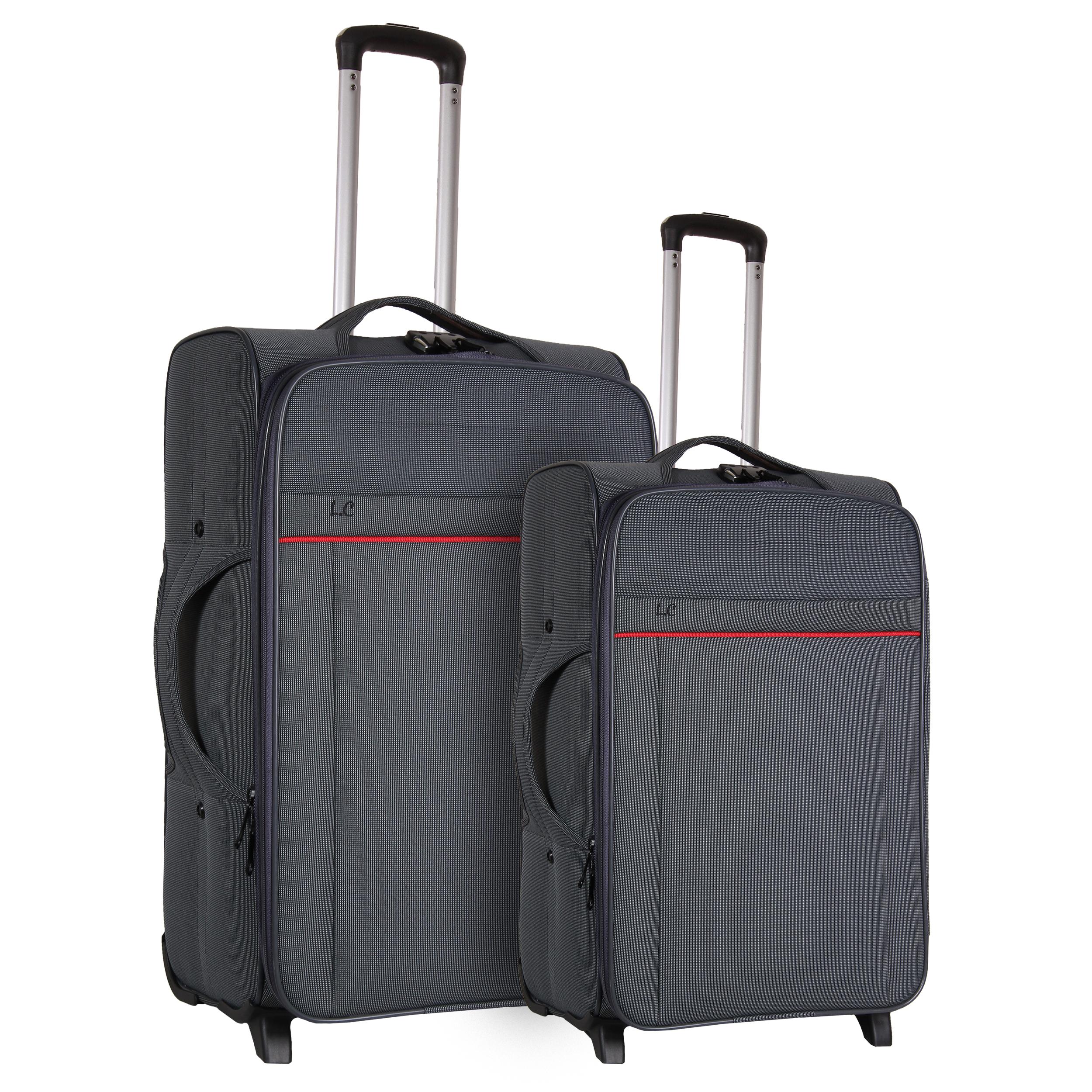 مجموعه دو عددی چمدان شهر چرم کد 1004