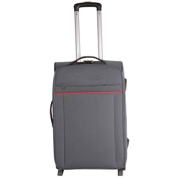 چمدان شهر چرم کد 1004 سایز متوسط