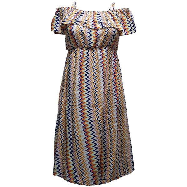 پیراهن زنانه مدل گلچین کد B 6564