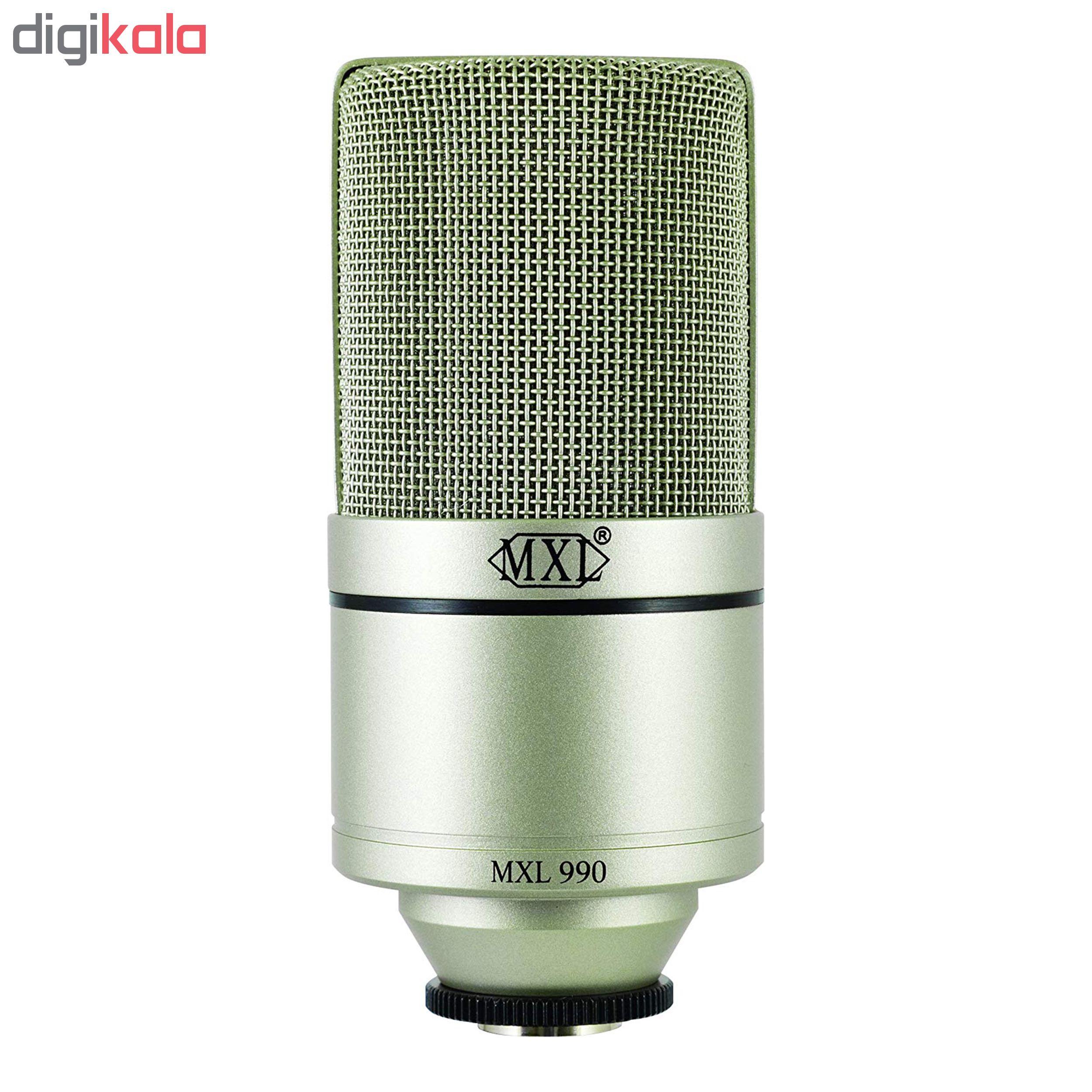 قیمت                      میکروفون کاندنسر استودیو ام ایکس ال مدل 990              ⭐️⭐️⭐️