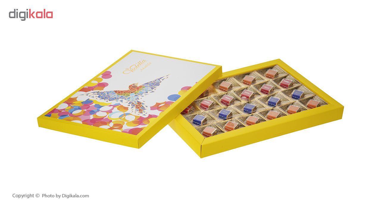 شکلات کادوئی فرمند طرح پرنده وزن 187 گرم main 1 4