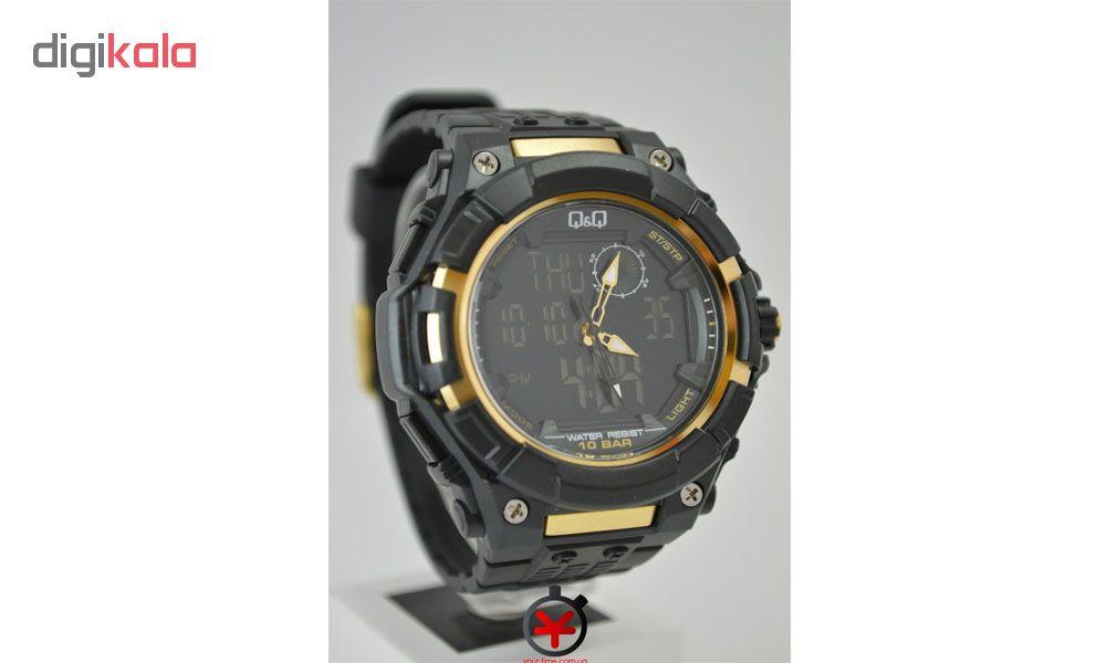 ساعت مچی دیجیتال مردانه کیو اند کیو مدل GW80J001Y             قیمت