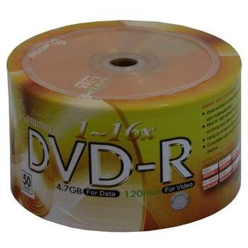 دی وی دی خام اسمارت بای مدل SR بسته 50 عددی