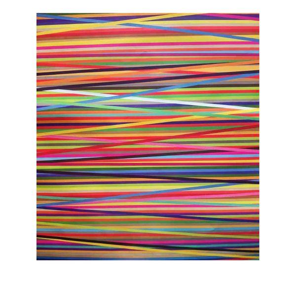 کاغذ کادو طرح رنگین کمان کد 342 بسته  5 عددی