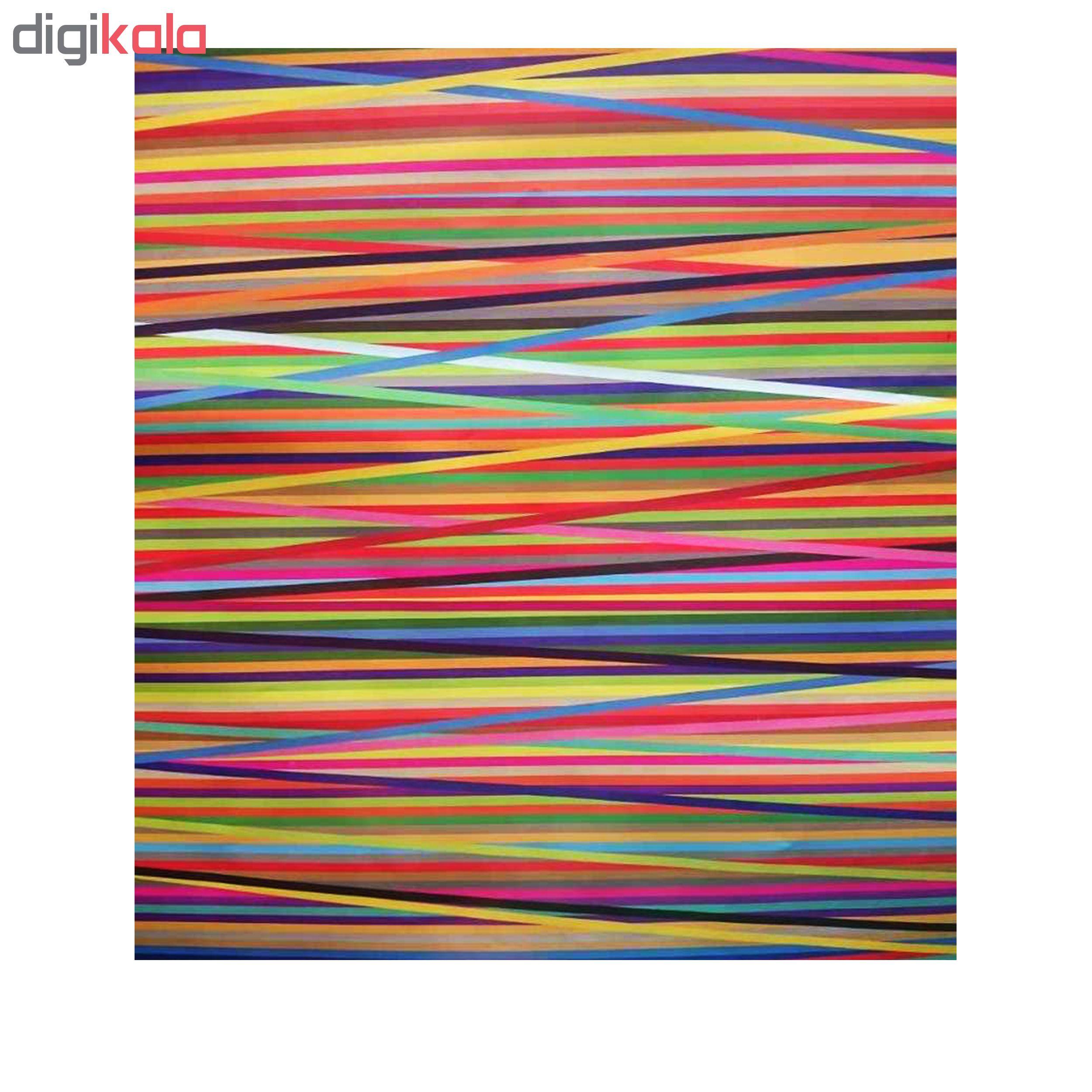 کاغذ کادو طرح رنگین کمان کد 342 بسته  5 عددی main 1 2