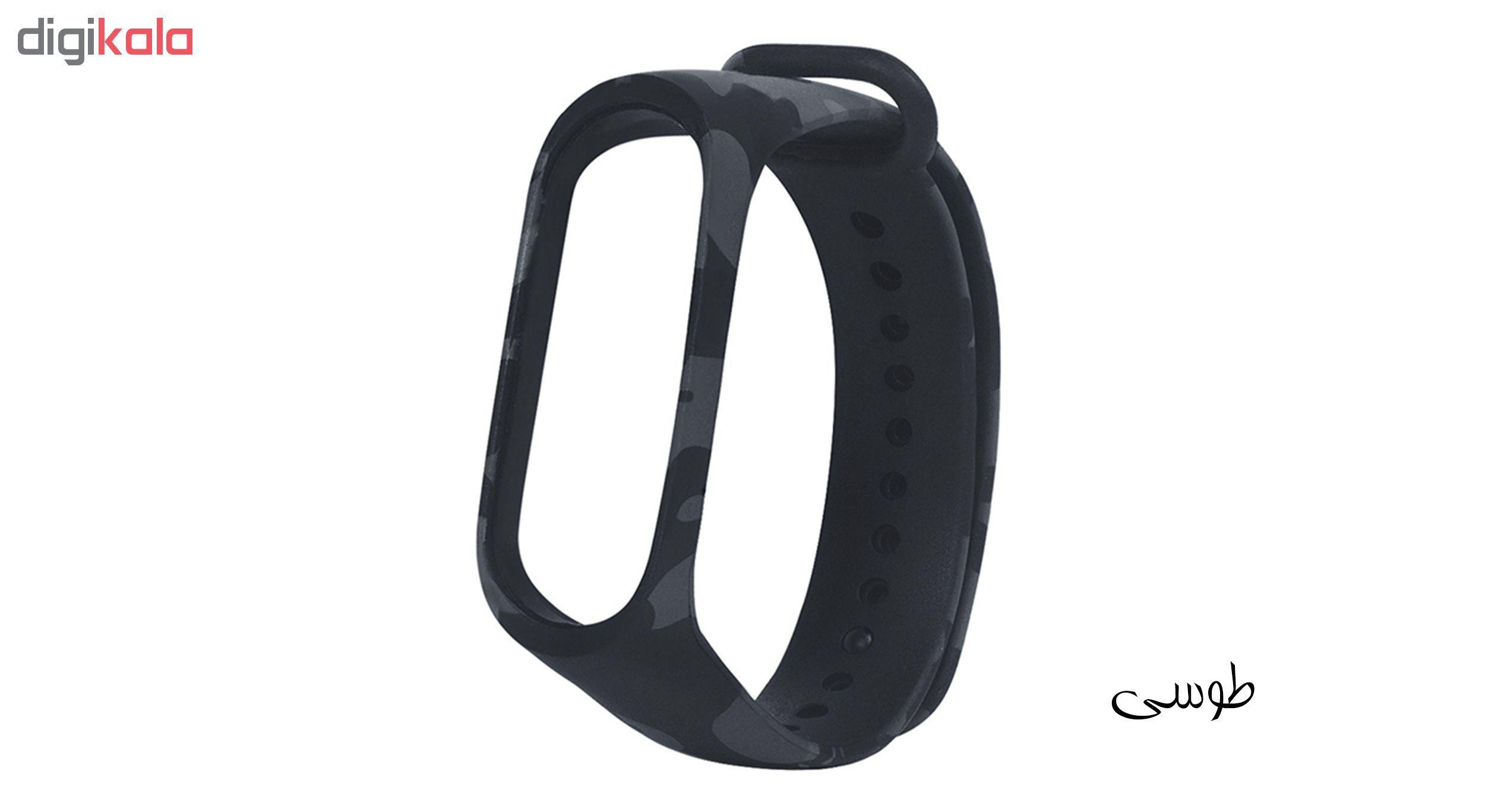 بند مچ بند هوشمند سومگ مدل SMG-S3 مناسب برای مچ بند هوشمند شیائومی Mi Band 4 main 1 1