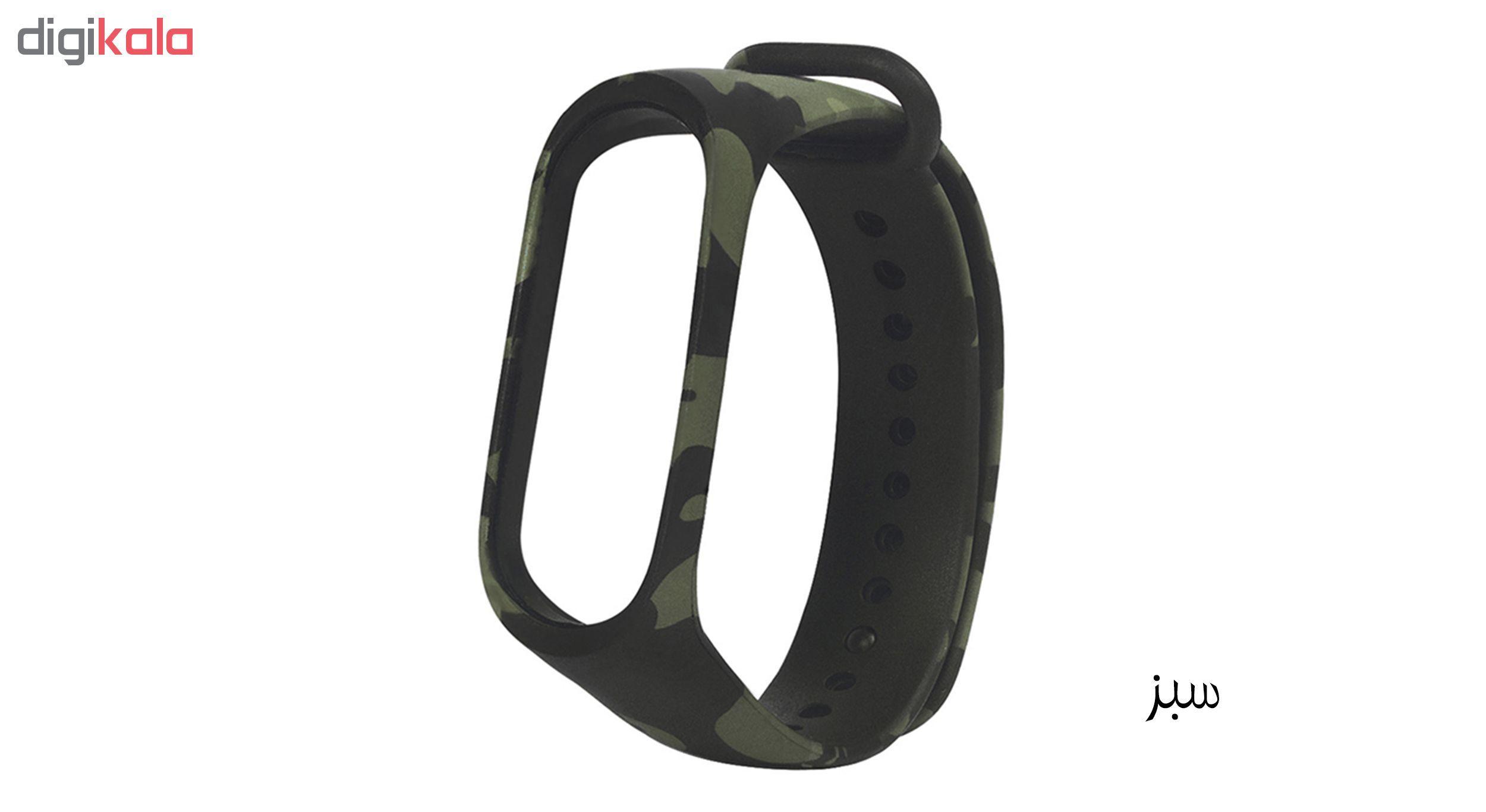 بند مچ بند هوشمند سومگ مدل SMG-S3 مناسب برای مچ بند هوشمند شیائومی Mi Band 4 main 1 3