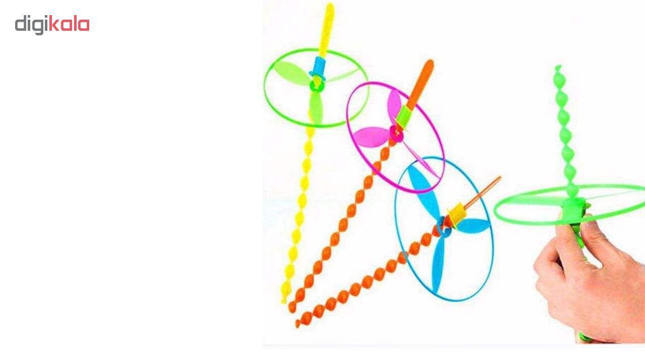 فرفره طرح رنگین کمان بسته 8 عددی main 1 2