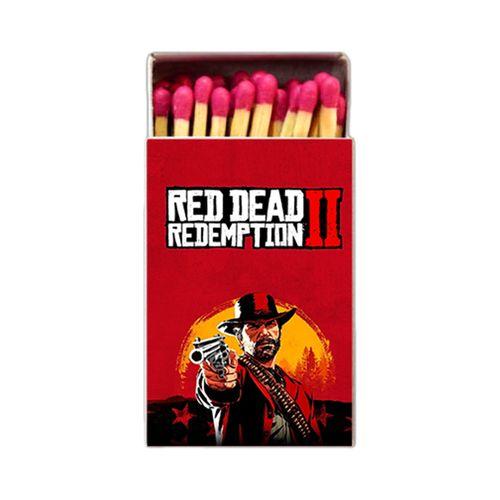 کبریت طرح RED DEAD کد KEB8