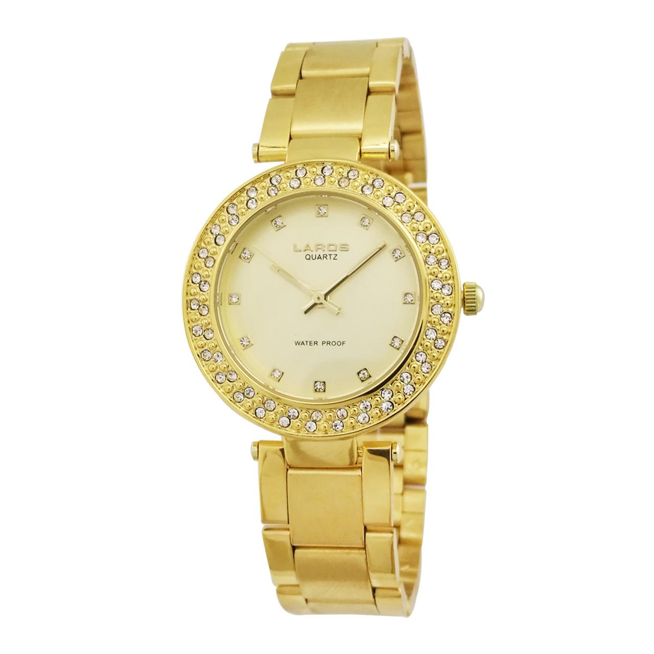 ساعت مچی عقربه ای زنانه لاروس مدل 0917-80086 3