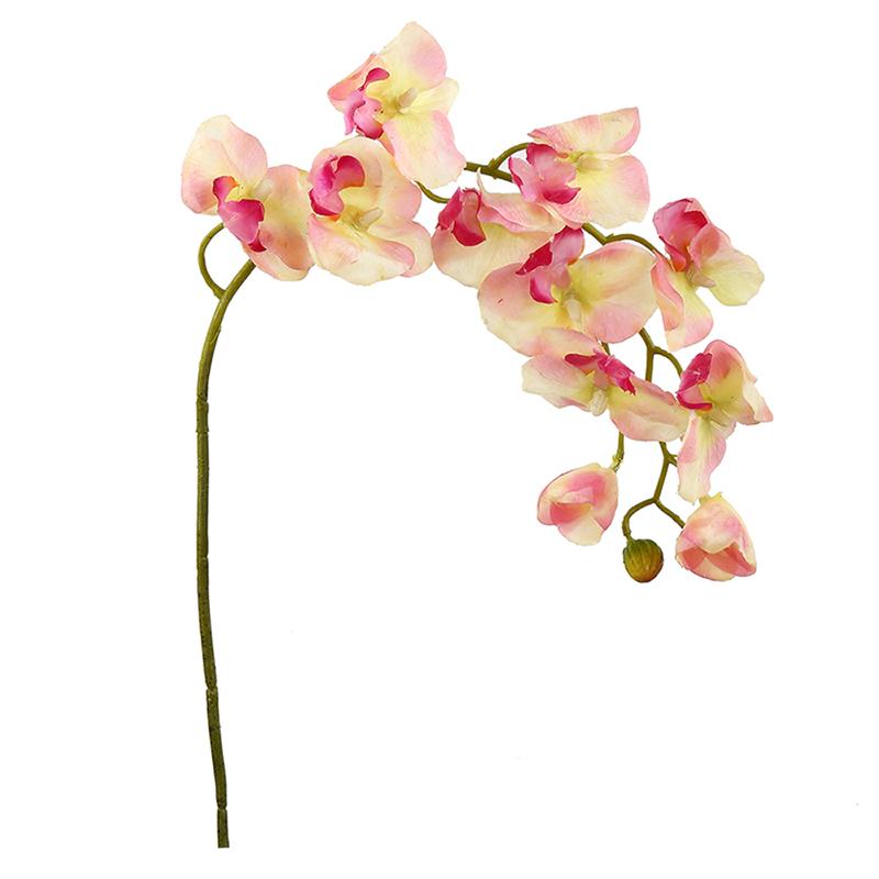گل مصنوعی هومز طرح شاخه ارکیده کد 50110 بسته 2 عددی