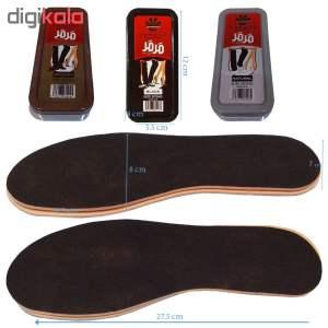 مجموعه لوازم نگهداری از کفش مدل SMW48به همراه کفی کفش