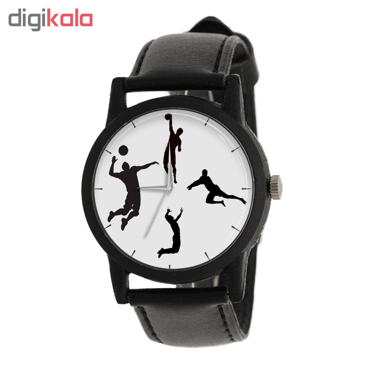 ساعت مچی عقربه ای مردانه طرح والیبال مدل LF1232              خرید (⭐️⭐️⭐️)