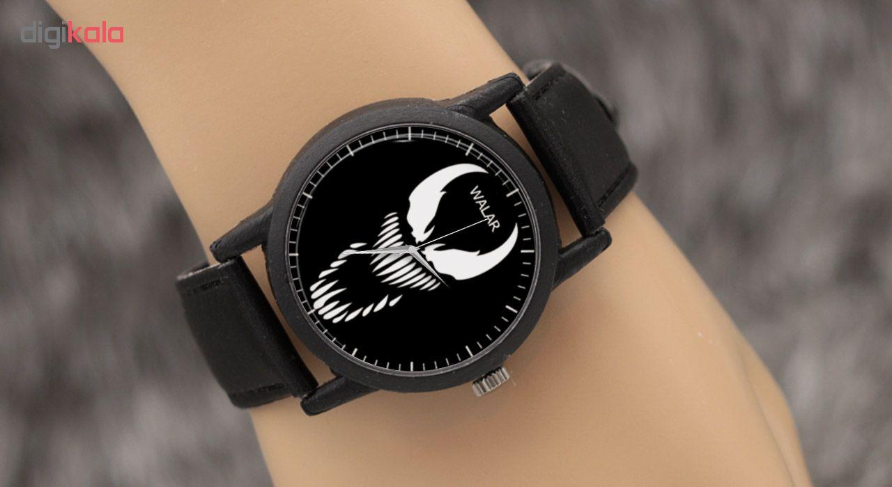ساعت مچی عقربه ای والار طرح ونوم مدل LF1245