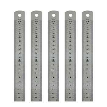 خط کش 20 سانتی متری کد 882 بسته 5 عددی