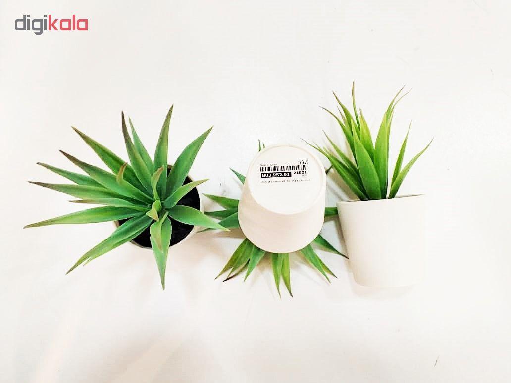 گلدان و گل مصنوعی ایکیا مدل FEJKA کد 91-952-803 main 1 4