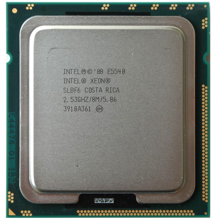 پردازنده مرکزی اینتل سری Nehalem EP مدل E5540