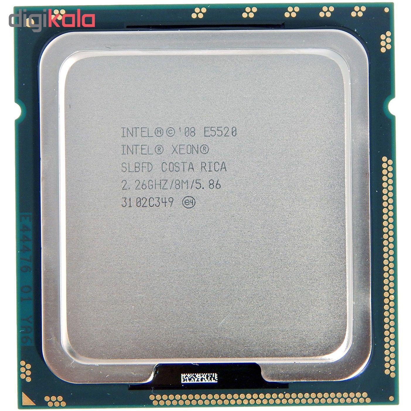 پردازنده مرکزی اینتل سری Nehalem EP مدل E5520