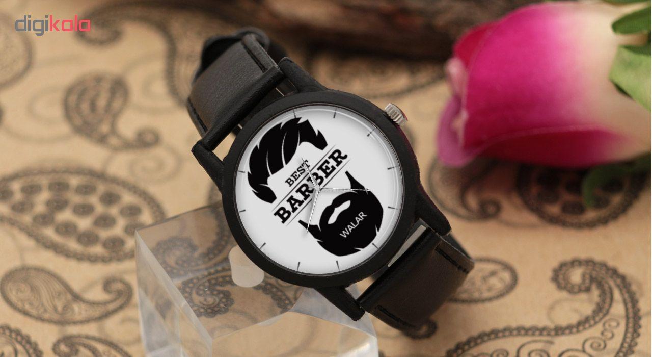 ساعت مچی عقربه ای مردانه والار طرح آرایشگر مدل LF1248