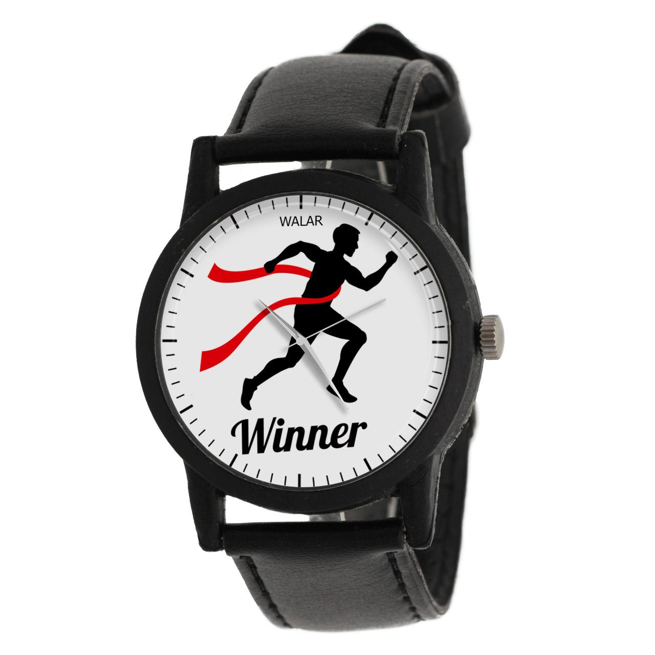 ساعت مچی عقربه ای مردانه والار طرح Winner مدل LF1252