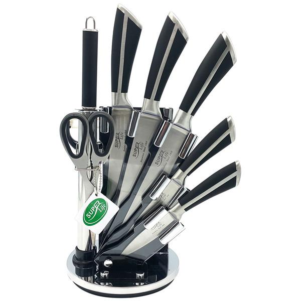 سرویس چاقوی آشپزخانه 8 پارچه سوپر لایف کد MM63247