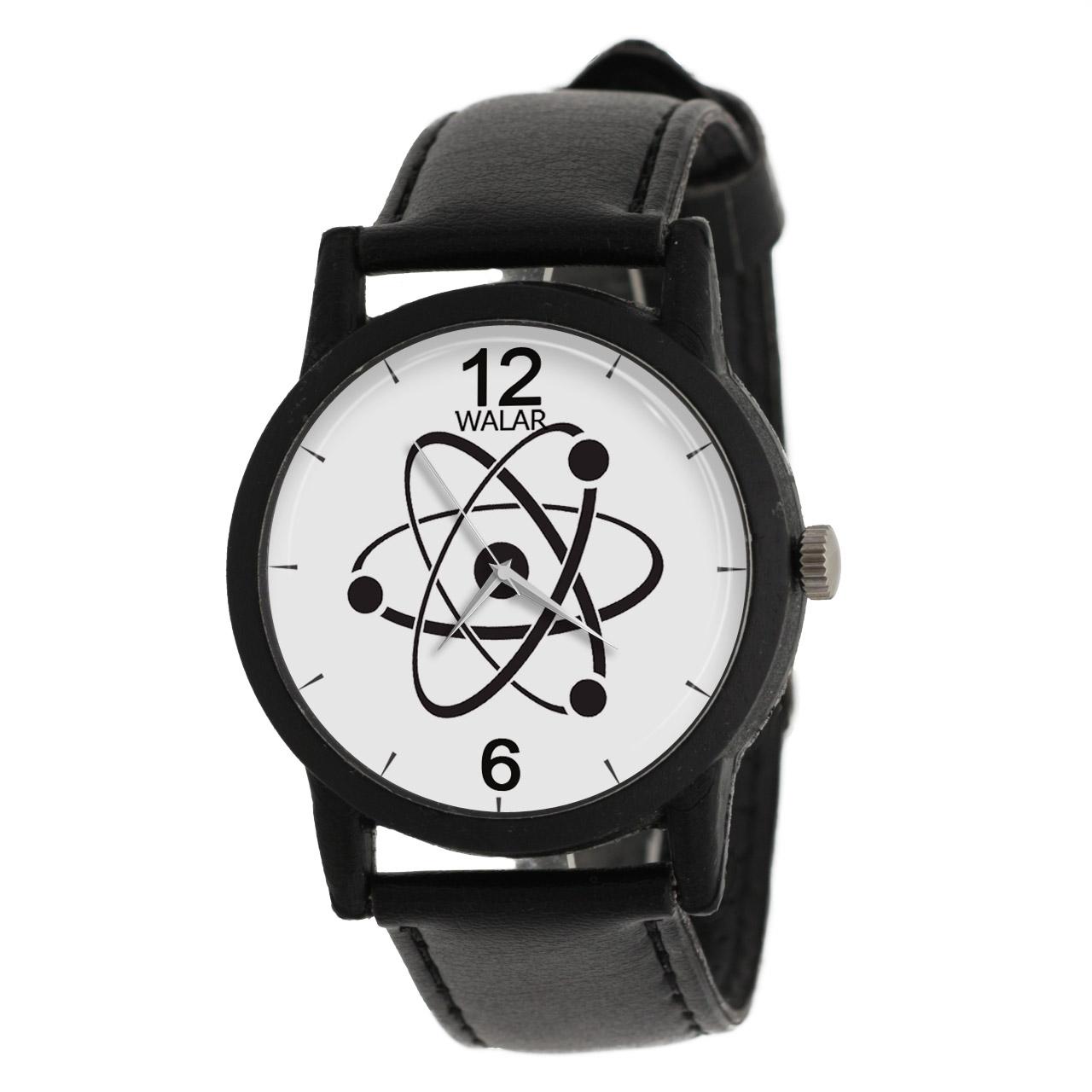 کد تخفیف                                      ساعت مچی عقربه ای والار طرح فیزیک مدل LF1267