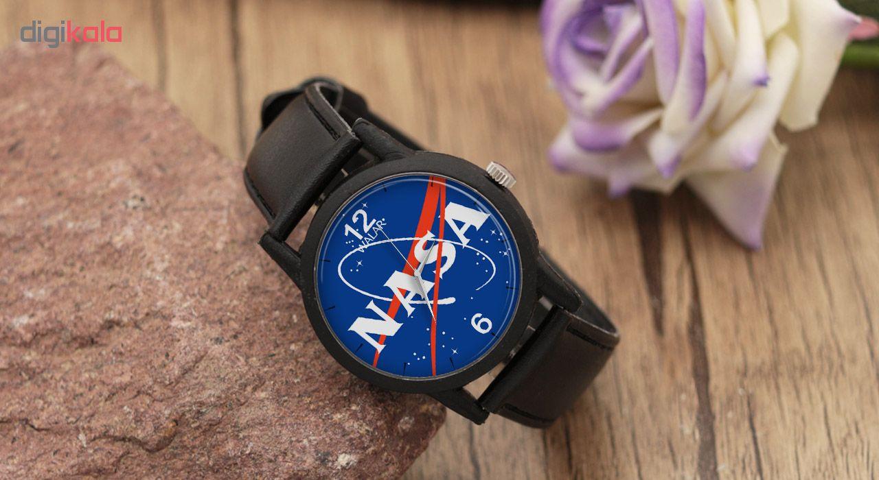 ساعت مچی عقربه ای والار طرح ناسا مدل LF1268