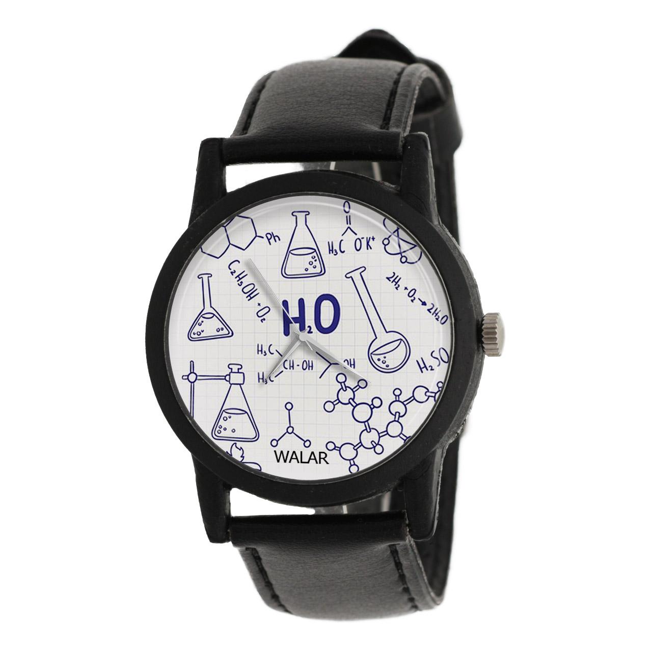 ساعت مچی عقربه ای والار طرح شیمی مدل LF1269