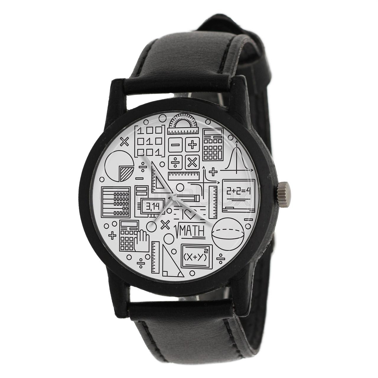 ساعت مچی عقربه ای طرح هندسه مدل LF1272