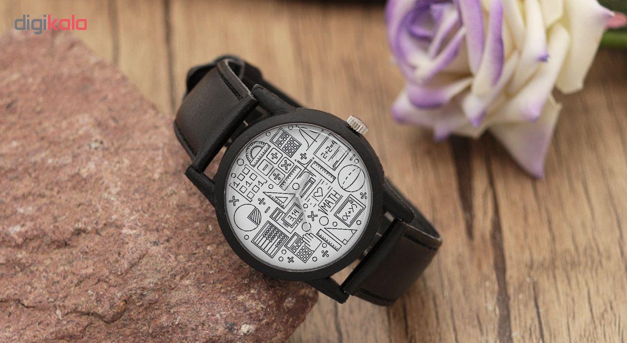 کد تخفیف                                      ساعت مچی عقربه ای طرح هندسه مدل LF1272