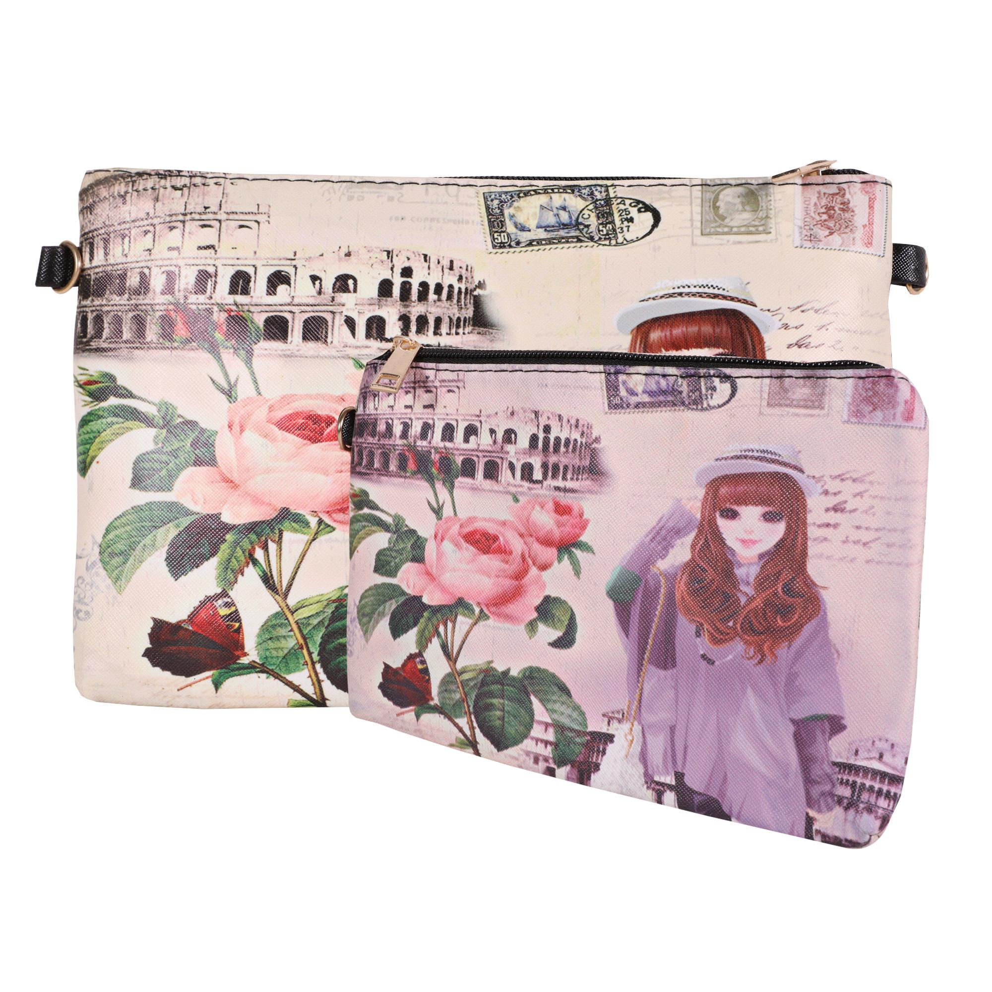 کیف دخترانه کد 2 مجموعه دو عددی