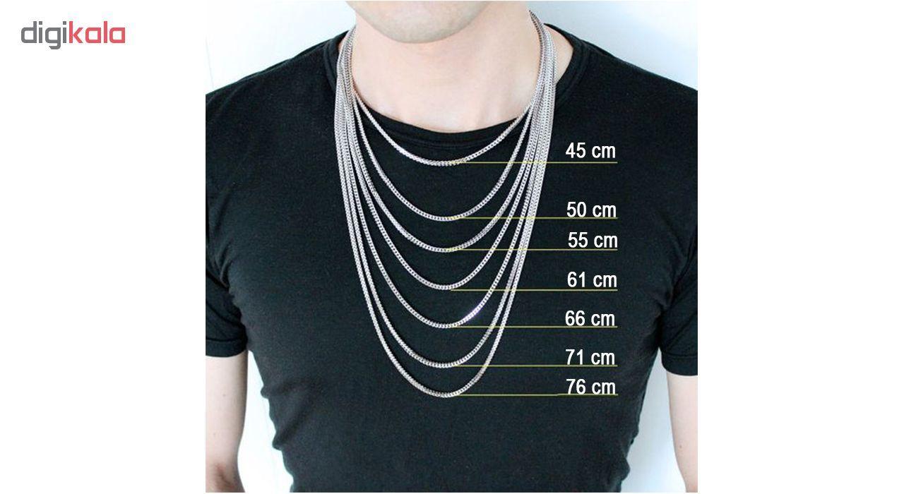 گردنبند مردانه مانچو مدل SF011 -  - 5
