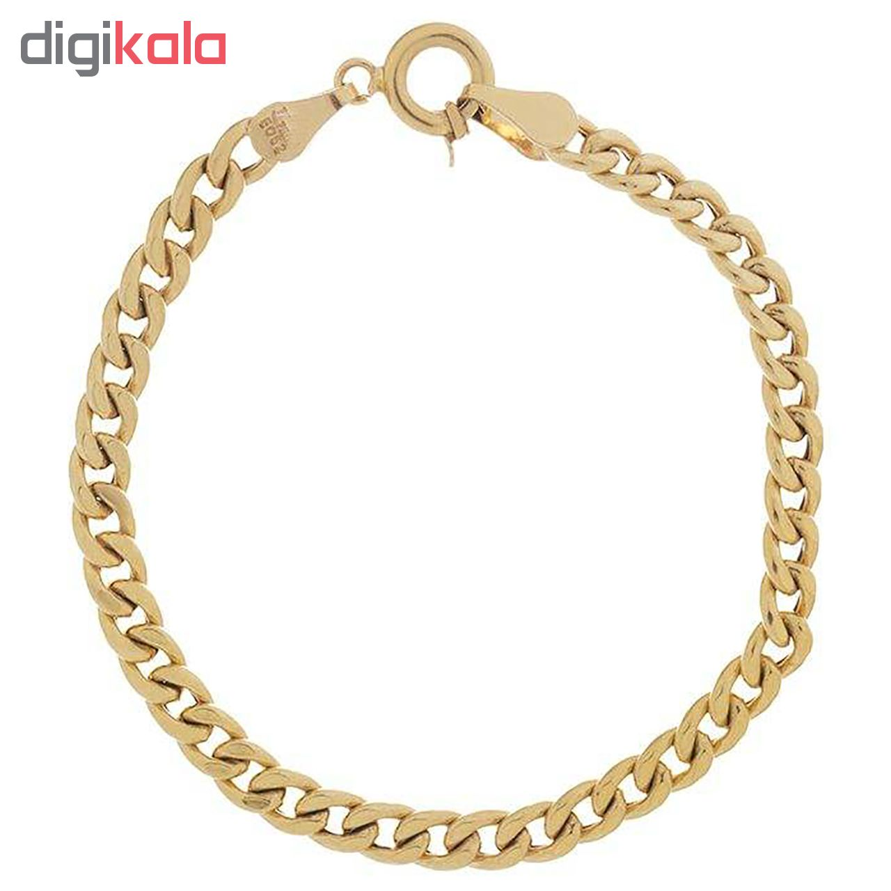 دستبند طلا 18 عیار زنانه آزوریت مدل H143