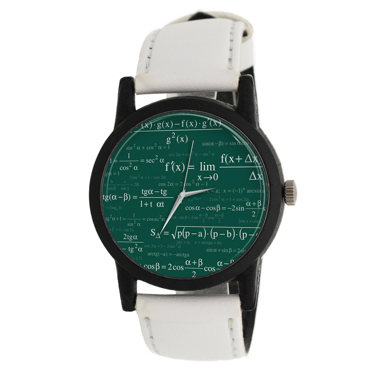 کد تخفیف                                      ساعت مچی عقربه ای طرح ریاضی مدل LF1472